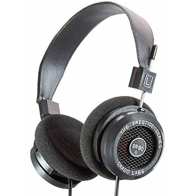 Grado SR80e Prestige Series Open Backed Headphone: Amazon.co.uk: Electronics