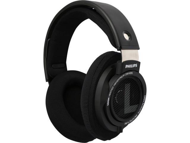 Philips SHP9500S Over-Ear Headphone Exclusive - Black-Newegg.com
