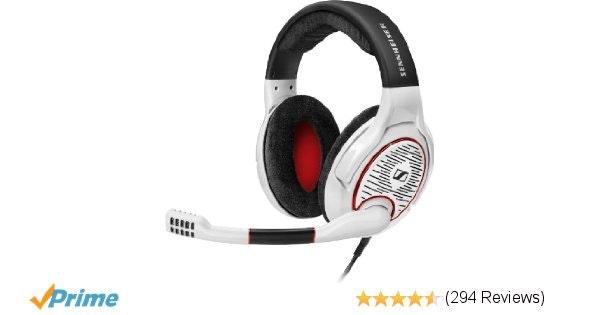 Amazon.com: Sennheiser GAME ONE PC Gaming Headset - White: Electronics