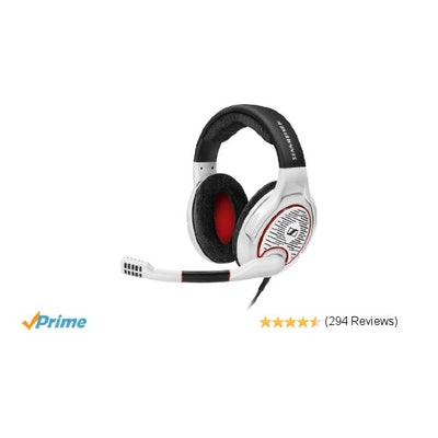 Amazon.com: Sennheiser GAME ONE PC Gaming Headset - White: Electronics