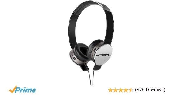 Amazon.com: SOL REPUBLIC Tracks HD On-Ear Headphones (Black): Electronics