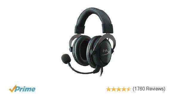 Amazon.com: HyperX Cloud II Gaming Headset for PC & PS4 - Gun Metal (KHX-HSCP-GM