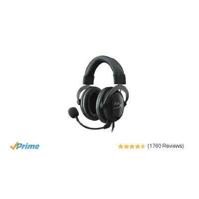 Amazon.com: HyperX Cloud II Gaming Headset for PC & PS4 - Gun Metal (KHX-HSCP-GM
