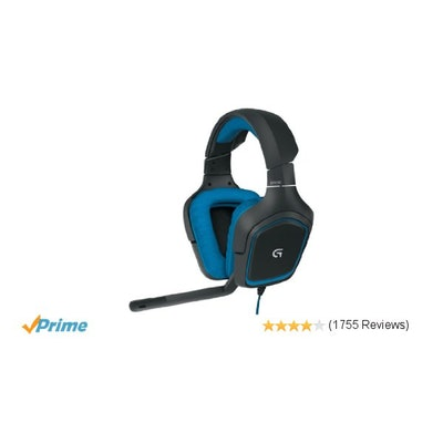 Amazon.com: Logitech G430 Surround Sound Gaming Headset with Dolby 7.1 Technolog