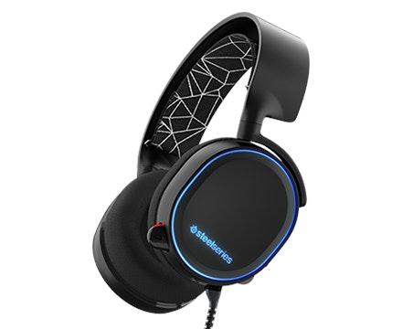 Arctis 5 - Gaming headset with 7.1 Surround Sound, RGB Illumination, and Chatmix