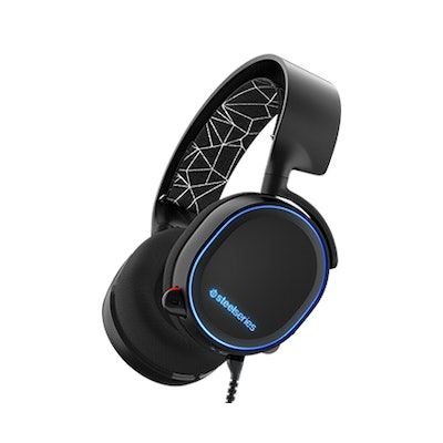 Arctis 5 - Gaming headset with 7.1 Surround Sound, RGB Illumination, and Chatmix