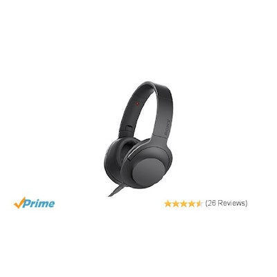 Amazon.com: Sony h.ear on Premium Hi-Res Stereo Headphones, Charcoal Black: Home