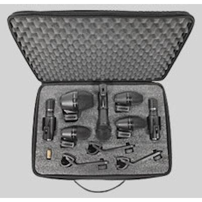PGADRUMKIT7  Drum Microphone Kit | Shure Americas