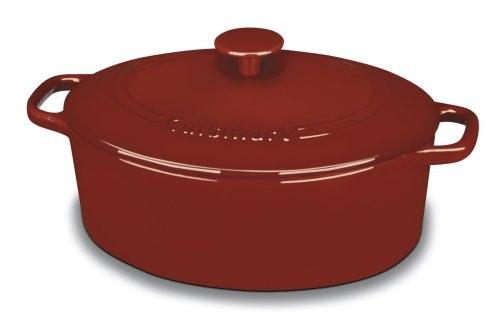 Cuisinart CI755-30CR Chef's Classic Enameled Cast Iron 5-1/2-Quart