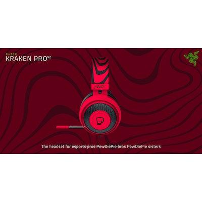 The PewDiePie Headset - Razer kraken Pro V2