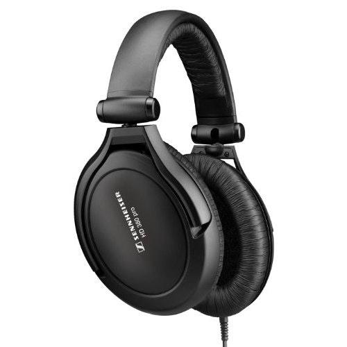 Sennheiser HD 380 Pro Collapsible High end Headphones - Black: Amazon.co.uk: Mus