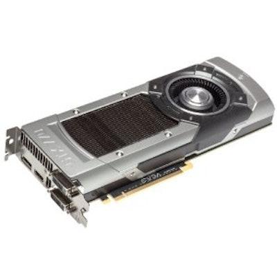 EVGA GeForce GTX 770 Superclocked 2GB GDDR5 256bit, Dual-Link DVI-I, DVI-D, HDMI