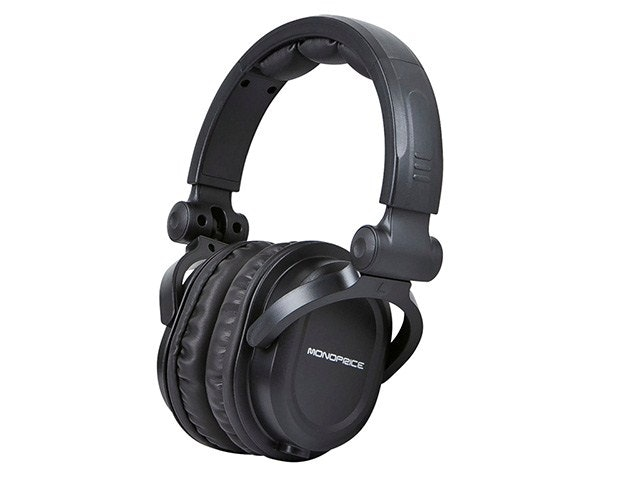Monoprioce's DJ-Style Over-the-Ear Headphones
