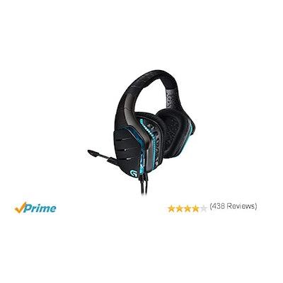 LogitechG633 Artemis Spectrum RGB 7.1 Surround Sound Gaming Headset (981-000586