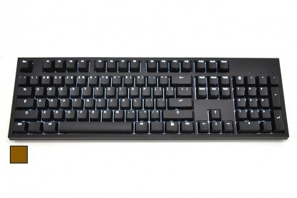 WASD Keyboards CODE 104-Key Mechanical Keyboard - Cherry MX Brown - CODE Keyboar