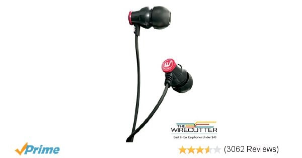 Amazon.com: Brainwavz Delta Black IEM In Ear Earbuds Noise Isolating Earphones R