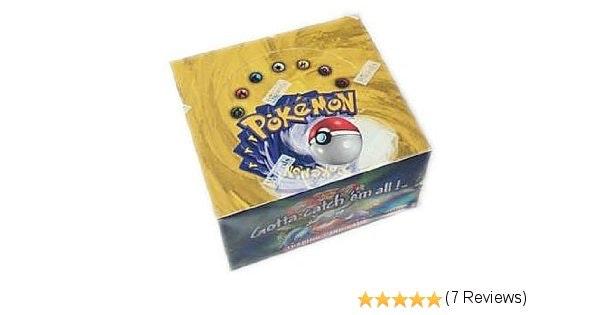 Amazon.com: Pokemon Card Game - Basic (Base Set 1) Booster Box - 36P11C: Toys &