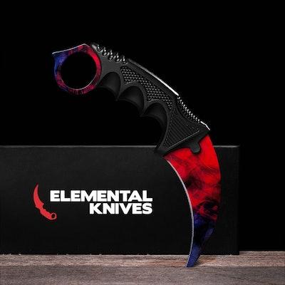 Real Doppler Phase 2 Karambit - Elemental Knives