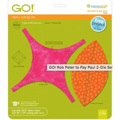 """GO! Rob Peter to Pay Paul-(7"""" Finished) (2-Die Set)"""