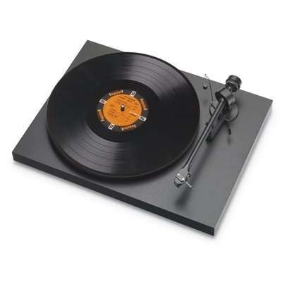 PRO-JECT - DEBUT III MATTE BLACK TURNTABLE