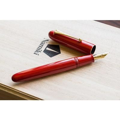 Lacquer Vermilion No.20|URUSHI|Maki-e fountain pen|Namiki