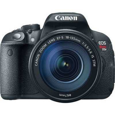 Canon EOS Rebel T5i DSLR Camera With EF-S IS STM 18-135mm 8595B005 B&H