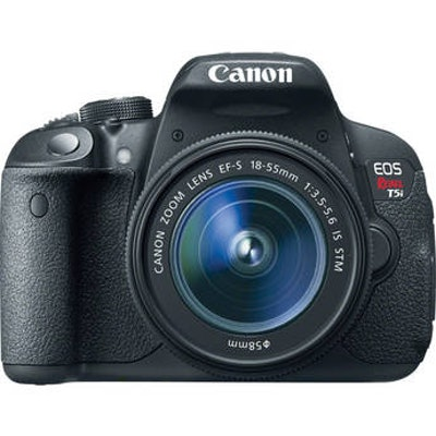 Canon EOS Rebel T5i DSLR Camera With EF-S IS STM 18-55mm 8595B003 B&H