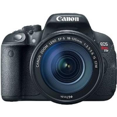 Amazon.com : Canon EOS Rebel T5i Digital SLR With 18-135mm STM Lens : Camera & P
