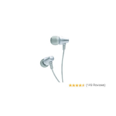 Brainwavz Jive In Ear Earbuds White