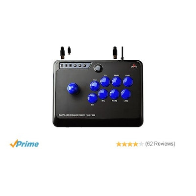 Amazon.com: F300 Mayflash Arcade Fight Stick Joystick for PS4 PS3 XBOX ONE 360 P