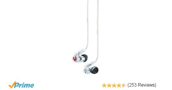 Amazon.com: Shure SE846-CL Sound Isolating Earphones with Quad High Definition M