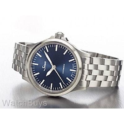 Sinn 556 I B Blue Dial on Fine Link Bracelet