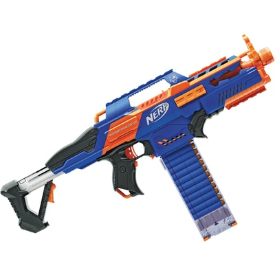 Foam Dart Machine Gun Motorized Automatic Belt Blaster Kids Toy NEW Refill  Nerf