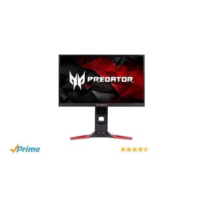 Amazon.com: Acer Predator XB241YU bmiprz 23.8-inch WQHD (2560x1440) NVIDIA G-SYN