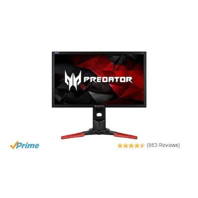 Amazon.com: Acer Predator XB241H bmipr 24-inch Full HD 1920x1080 NVIDIA G-Sync D