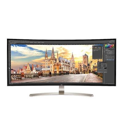 LG 38UC99-W: 38 Class 21:9 UltraWide® WQHD+ IPS Curved LED Monitor (37.5 Diagona