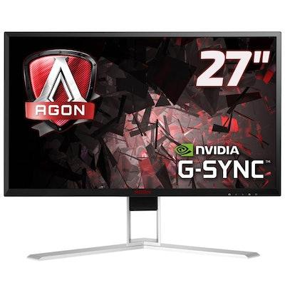 """AOC AGON AG271QG 27"""" QHD G-Sync 165Hz IPS Gaming Monitor - AG271QG   Mwave Austr"""