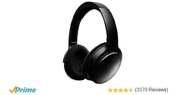 Bose QuietComfort 35 Wireless Headphones, Noise Cancelling