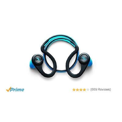Plantronics BackBeat FIT Wireless Stereo Headphones: Amazon.co.uk: Electronics