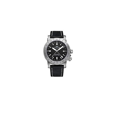 Amazon.com: Glycine Airman 42 Automatic Watch, GL 293, GMT, Black, GL0066: Watch