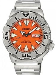 Seiko 2nd Generation Orange Monster with new 24-Jewel Automatic Movement #SRP309