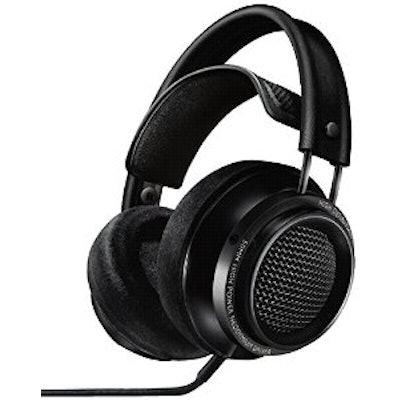 Philips X2/27 Fidelio Headphones, Black