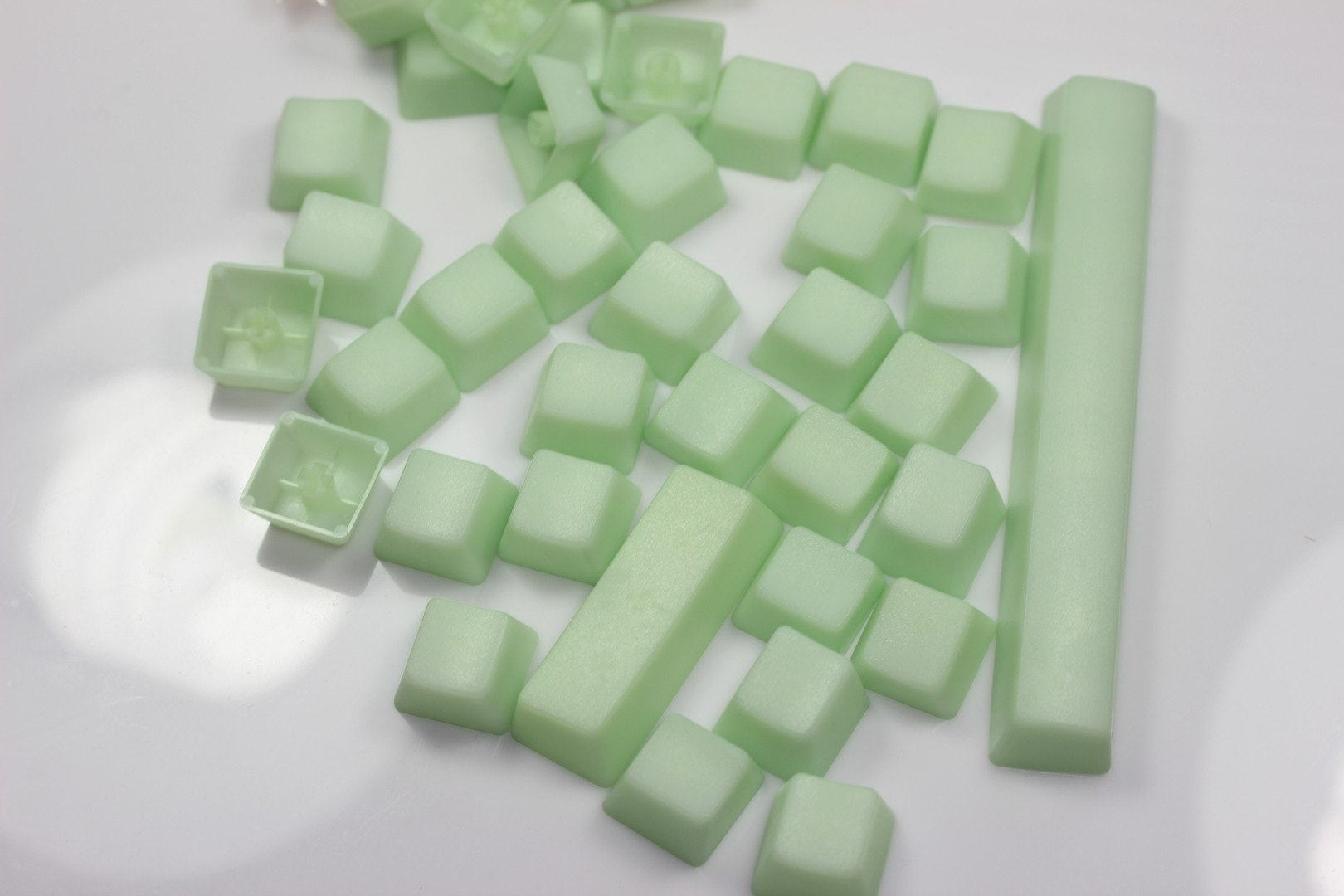 Green Jelly POM Keycap Set