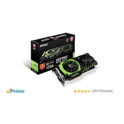Amazon.com: MSI LIMITED GAMING Edition GeForce GTX 970 4GB OC DirectX 12 VR Read