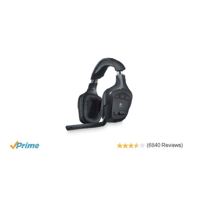 Amazon.com: Logitech Wireless Gaming Headset G930 with 7.1 Surround Sound: Elect