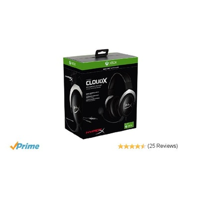 Amazon.com: HyperX CloudX Pro Gaming Headset for Xbox One/PC (HX-HSCX-SR/NA): Co