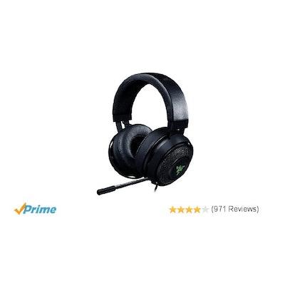 Amazon.com: Razer Kraken 7.1 Chroma V2 USB Gaming Headset - 7.1 Surround Sound w