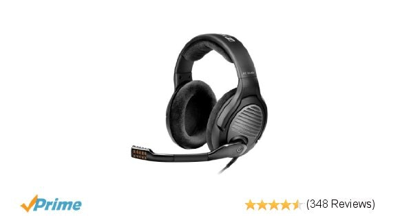 Amazon.com: Sennheiser PC 363D High Performance Surround Sound Gaming Headset: C