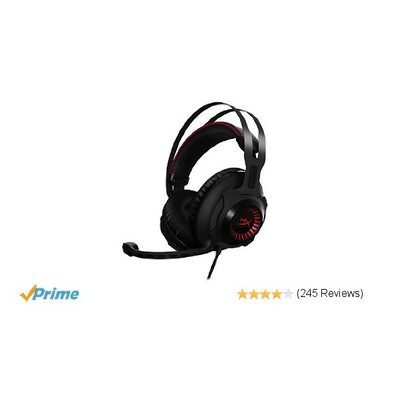 Amazon.com: HyperX Cloud Revolver Gaming Headset for PC & PS4 (HX-HSCR-BK/NA): C