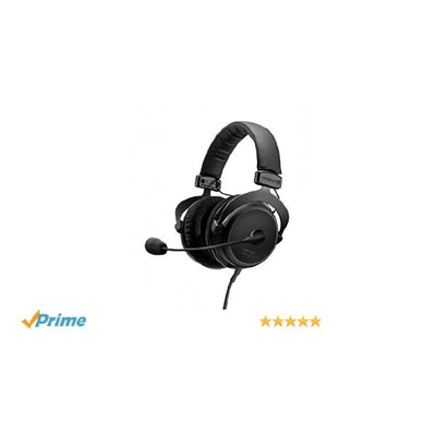 Amazon.com: Beyerdynamic MMX 300 Second Generation Gaming and Multi-Media Headse